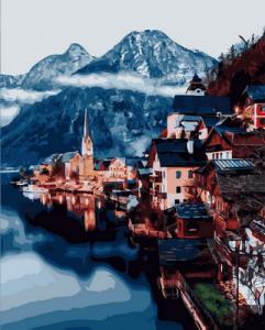 Картина по номерам GX31191 Городок в горах