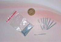 О шплинт 2,0х25 мм, цинк (уп.10 шт)