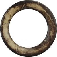 Кольцо из кокоса Dвн= 38мм/Dвнш=55мм, коричневый