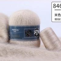 Пряжа Пух норки (Long mink wool) (846 экрю)