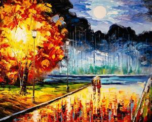 Картина по номерам MG2165 Осенний блюз