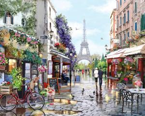 Картина по номерам MG2206 Париж весной