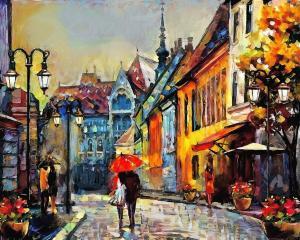 Картина по номерам MG2159 Город Европы