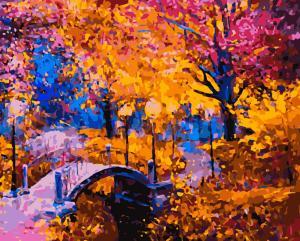 Картина по номерам MG2167 Яркая осень