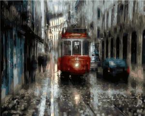 Картина по номерам MG2041 Трамвай