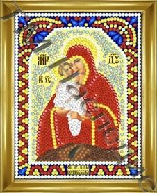 Алмазная мозаика Б-ца Почаевская 12х15 см ТМ Наследие