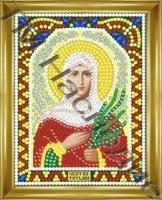 Алмазная мозаика с рамкой Татьяна 12х15 см ТМ Наследие