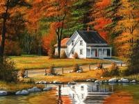 Картина по номерам GX 35218 Осенние мотивы 40х50