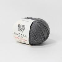Пряжа Gazzal Baby Cotton (3450 серо-бежевый)