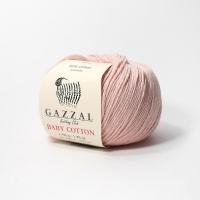 Пряжа Gazzal Baby Cotton (3444 сиреневый)
