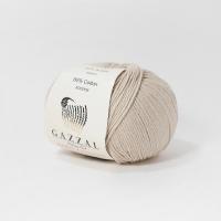 Пряжа Gazzal Baby Cotton (3446 серебряная норка)