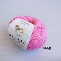 Пряжа Gazzal Baby Cotton (3468 розовый)