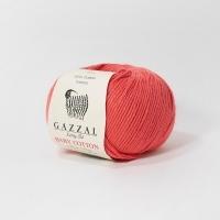 Пряжа Gazzal Baby Cotton (3418 т.коралл)