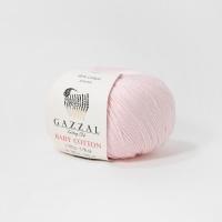 Пряжа Gazzal Baby Cotton (3411 сиреневый)