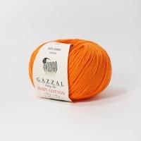 Пряжа Gazzal Baby Cotton (3419 ярко-оранжевый)