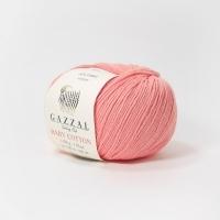 Пряжа Gazzal Baby Cotton (3435 розовый кварц)