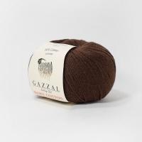 Пряжа Gazzal Baby Cotton (3436 коричневый)