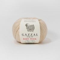 Пряжа Gazzal Baby Wool (839 бежевый)