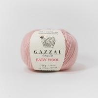 Пряжа Gazzal Baby Wool (845 сухая роза)