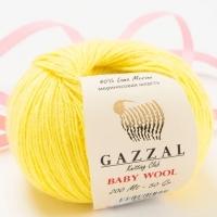 Пряжа Gazzal Baby Wool (833 св.желый)