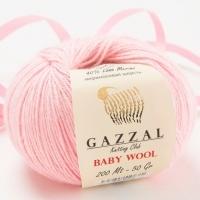 Пряжа Gazzal Baby Wool (836 св.розовый)