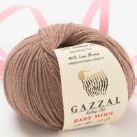 Пряжа Gazzal Baby Wool (835 т.бежевый)