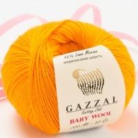 Пряжа Gazzal Baby Wool (837 оранжевый)