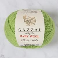 Пряжа Gazzal Baby Wool (838 салатовый)