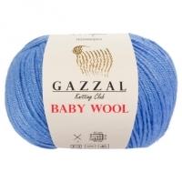 Пряжа Gazzal Baby Wool (813 голубой)