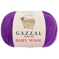 Пряжа Gazzal Baby Wool (815 сиреневый)