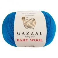 Пряжа Gazzal Baby Wool (822 морская волна)