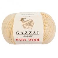 Пряжа Gazzal Baby Wool (829 молочный)