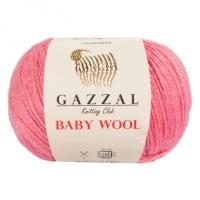 Пряжа Gazzal Baby Wool (828 розовый кварц)