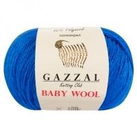 Пряжа Gazzal Baby Wool (830 яр.голубой)
