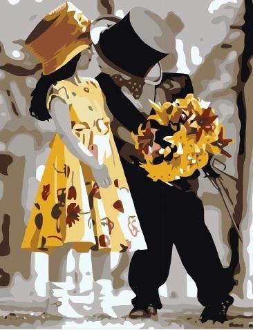 Картина по номерам GX 6342 Галантность Кима Андерсона 40х50 см