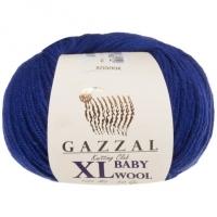 Пряжа Gazzal Baby Wool XL (802 тёмно-синий)