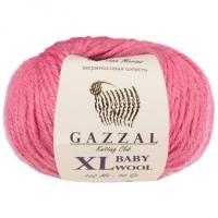 Пряжа Gazzal Baby Wool XL (831 тёмно-розовый)