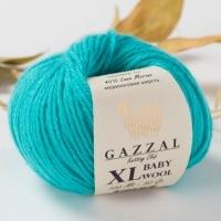 Пряжа Gazzal Baby Wool XL (832 светло-бирюзовый)