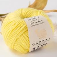 Пряжа Gazzal Baby Wool XL (833 лимон)