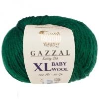 Пряжа Gazzal Baby Wool XL (814 изумруд)