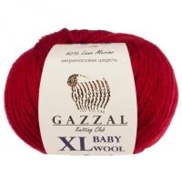 Пряжа Gazzal Baby Wool XL (816 тёмно-красный)