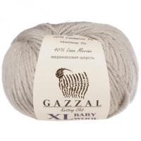 Пряжа Gazzal Baby Wool XL (817 светло-серый)