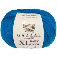 Пряжа Gazzal Baby Wool XL (822 тёмно-бирюзовый)