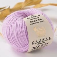 Пряжа Gazzal Baby Wool XL (823 сиреневый)
