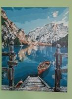 Картина по номерам Лодка