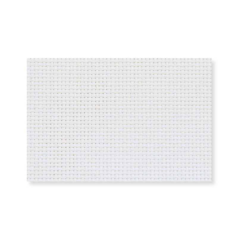 Канва в упаковке ГАММА 100%хлопок 30х40см 18кл белый