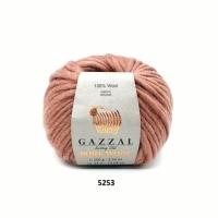 Пряжа Gazzal Pure Wool-4 (5253)