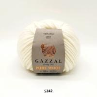 Пряжа Gazzal Pure Wool-4 (5242)