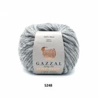 Пряжа Gazzal Pure Wool-4 (5248 серый)