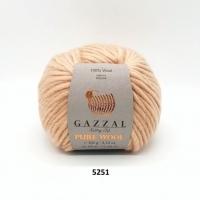 Пряжа Gazzal Pure Wool-4 (5251)